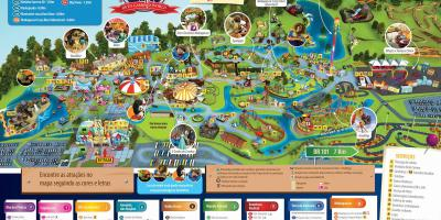 Mappa di Beto Carrero World